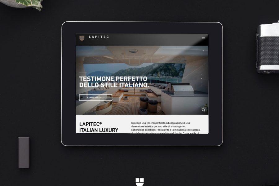 Lapitec new website